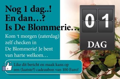Facebook-post De Blommerie