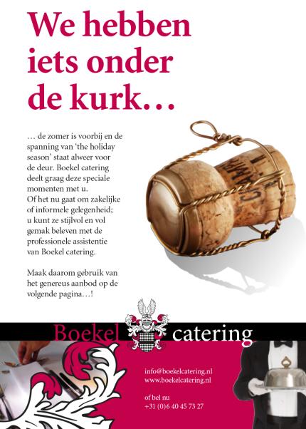 advertentie cateringbedrijf
