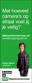 advertentie D66-Haarlemmermeer