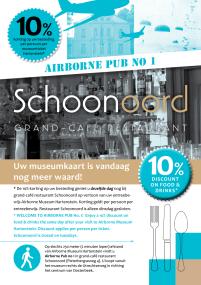 flyer A5 restaurant Schoonoord