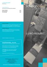 menukaart restaurant Schoonoord