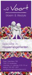 roll up banner bloemenwinkel