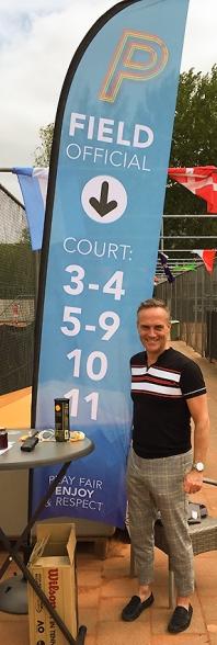 beachflag tennis tournament