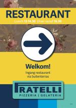 A0 buiten-poster promo restaurant