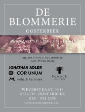 De Blommerie (interieur/bloemenwinkel) advertentie 2021