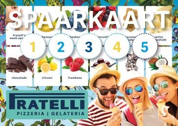 spaarkaart Italiaans restaurant