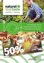 A5 flyer promotie cateringsbedrijf