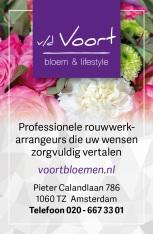 Advertentie bloemenwinkel Amsterdam