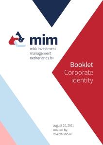 Creatie corporate identity voor MBK Investment Nederland